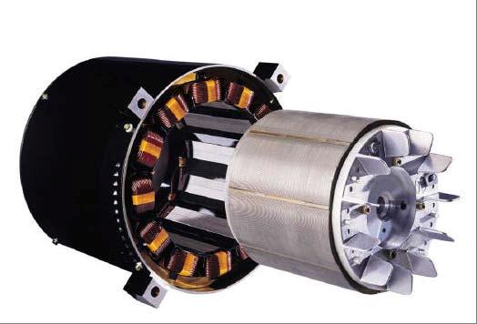 Motores con un rotor de imán permanente.
