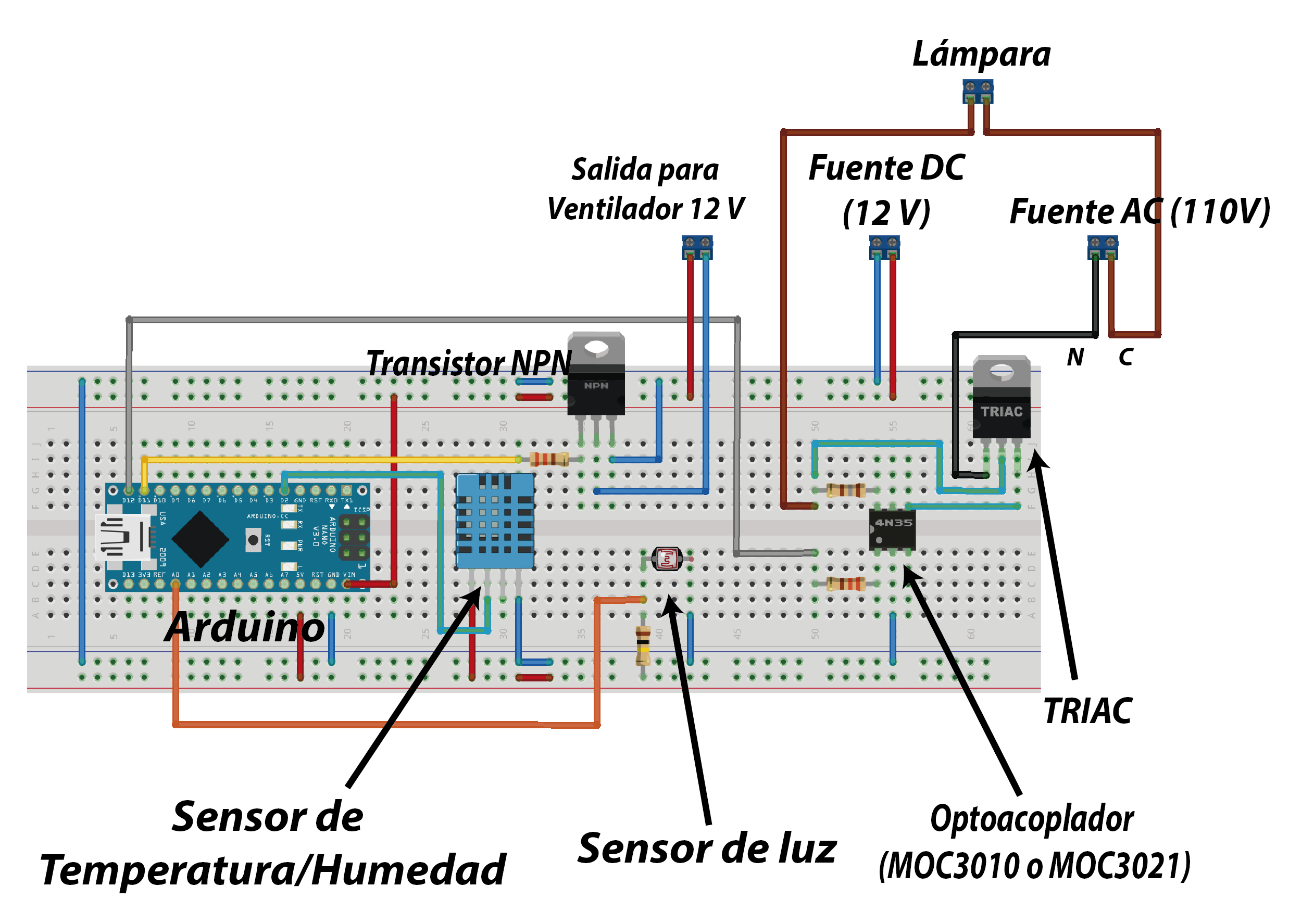 Lab: Using a Transistor to Control High Current Loads with