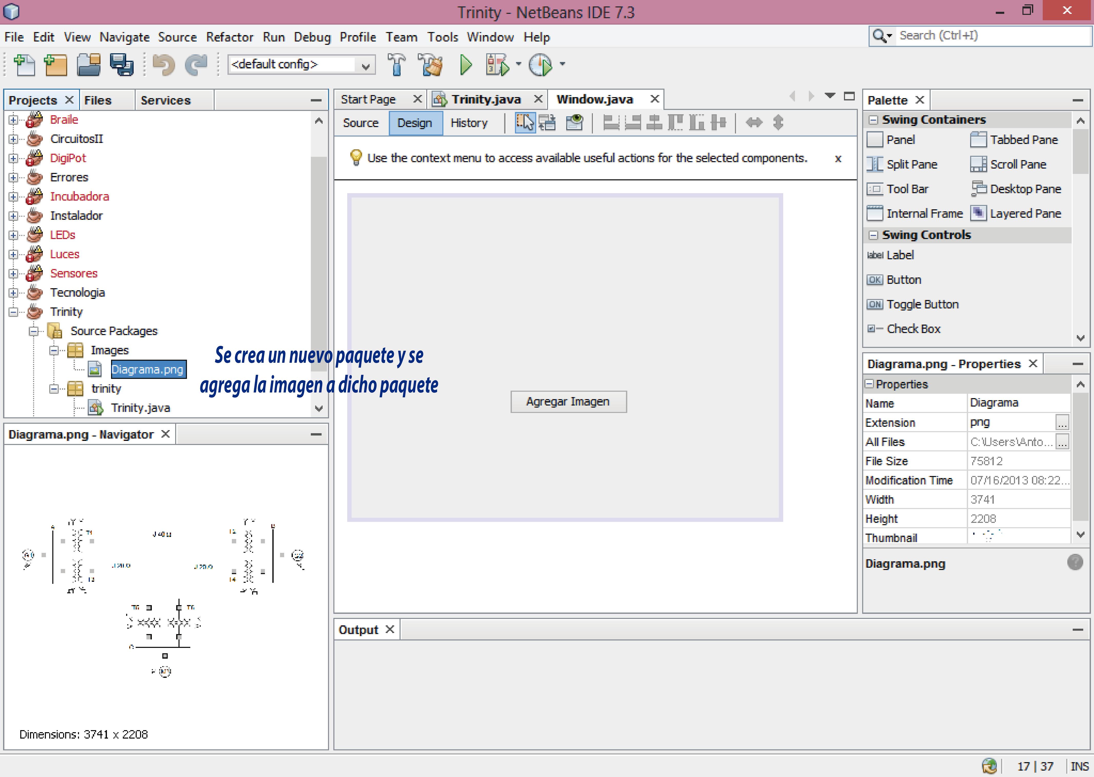 insertar una imagen dentro de un jPanel en Java